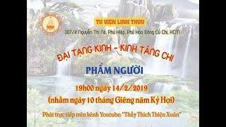 """ĐẠI TẠNG KINH - KINH TĂNG CHI - CHƯƠNG III. BA PHÁP - PHẨM """"NGƯỜI"""""""
