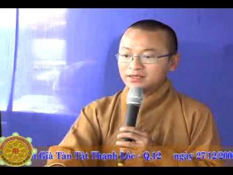 Chuyển Hóa Thói Quen (27/12/2006) video do Thích Nhật Từ giảng