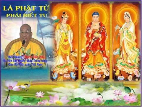 Là Phật Tử Phải Biết Tu