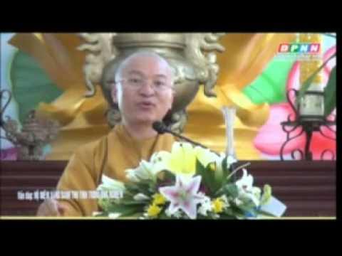 Vấn đáp: Hộ niệm vãng sanh, thụ tinh trong ống nghiệm (13/06/2012) video do Thích Nhật Từ giảng