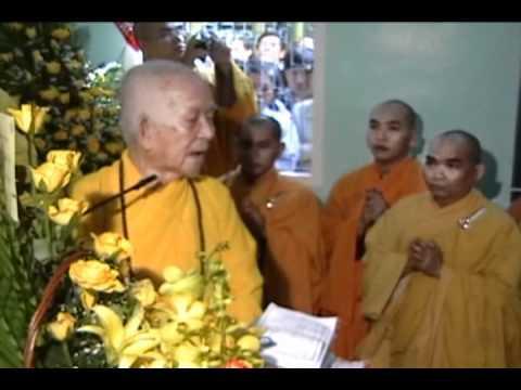 Hòa Thượng Thích Trí Tịnh - Khai Thị Khánh Tuế 2008 (HD)