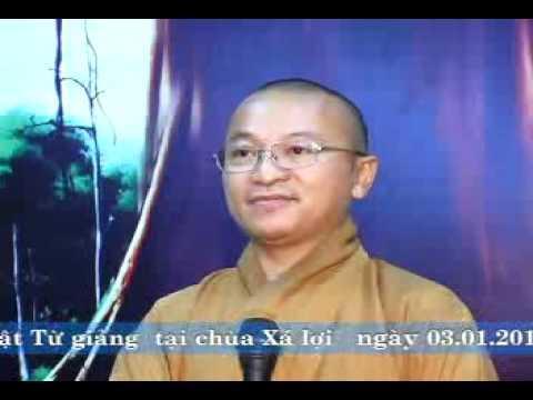 Tâm Kinh 04: Cắt lớp thực tại (03/01/2010) video do Thích Nhật Từ giảng