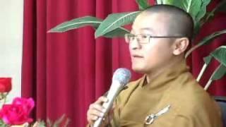 Niệm Phật Và Trị Liệu - Phần 1/2  (24/02/2007) video do Thích Nhật Từ giảng