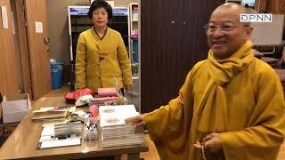 Thầy Nhật Từ cùng quỹ ĐPNN hành hương Hàn quốc 04-2018- Phần 11