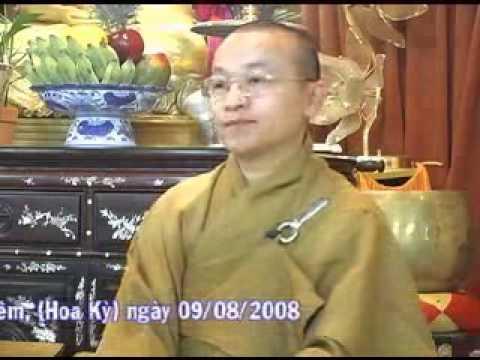 Tự do trong đạo Phật (09/08/2008) video do Thích Nhật Từ giảng
