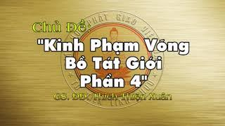 Giảng Đại Tạng Kinh Việt Nam - Trường Bộ Kinh: Kinh Phạm Võng (Phần 4)