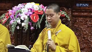 Tụng Kinh Phật Căn Bản trong khóa tu Tuổi Trẻ Hướng Phật Online, ngày 09-05-2021