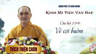 Kinh Mi Tiên: Câu 194- Về cột buồm - Thích Thiện Chơn