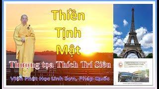 Thiền, Tịnh, Mật