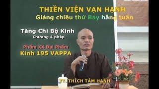 Kinh 195 Vappa | Tăng Chi Bộ kinh