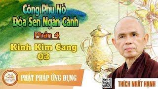 Công Phu Nở Đóa Sen Ngàn Cánh 04: Kinh Kim Cang 03 - Thầy Thích Nhất Hạnh