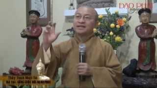 Sống Cuộc Đời Hạnh Phúc (14/01/2013) video do Thích Nhật Từ giảng