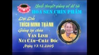HOA SEN CHÍN PHẨM_THÍCH MINH THÀNH
