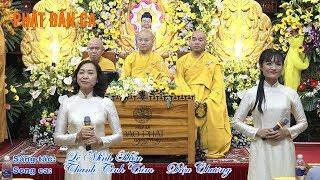 Ca khúc: Phật Đản ca do Thanh Tịnh Tâm và Diệu Chương song ca 18-05-2019