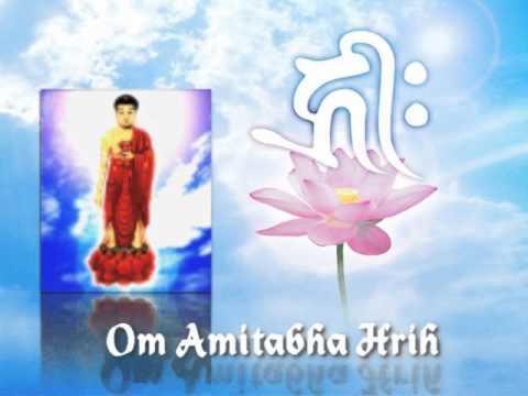 """Trì """"Chú Phật A Di Đà"""" (Om Amideva Hrih, Tiếng Phạn) (Rất Hay)"""