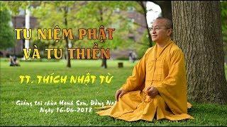 Tu niệm Phật và tu thiền