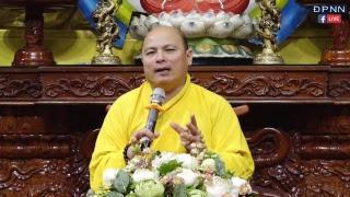 TT. THÍCH ĐỒNG TRÍ giảng trong lễ sám hối chùa Giác Ngộ (05/01/2019)