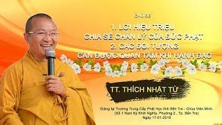 Lời hiệu triệu chân lý của đức Phật - TT. Thích Nhật Từ