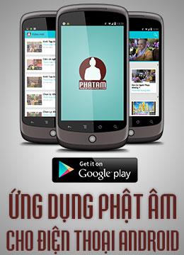 Ứng dụng Phật Âm cho điện thoại Android