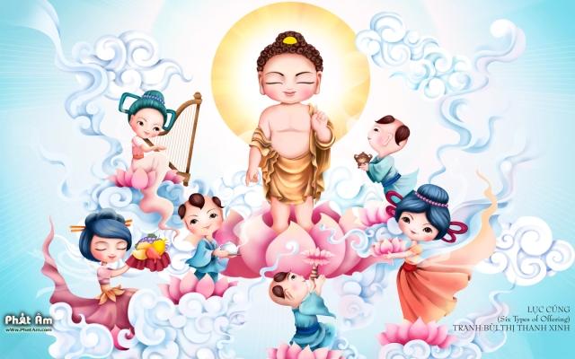 Hình nền Phật đản